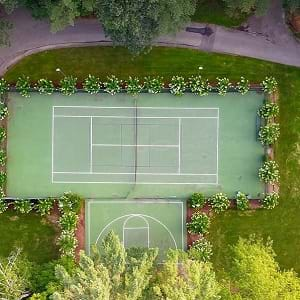Building a Tennis Court