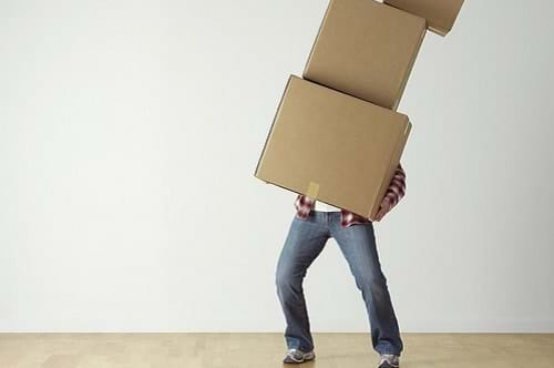 How to Avoid Injury When Moving House