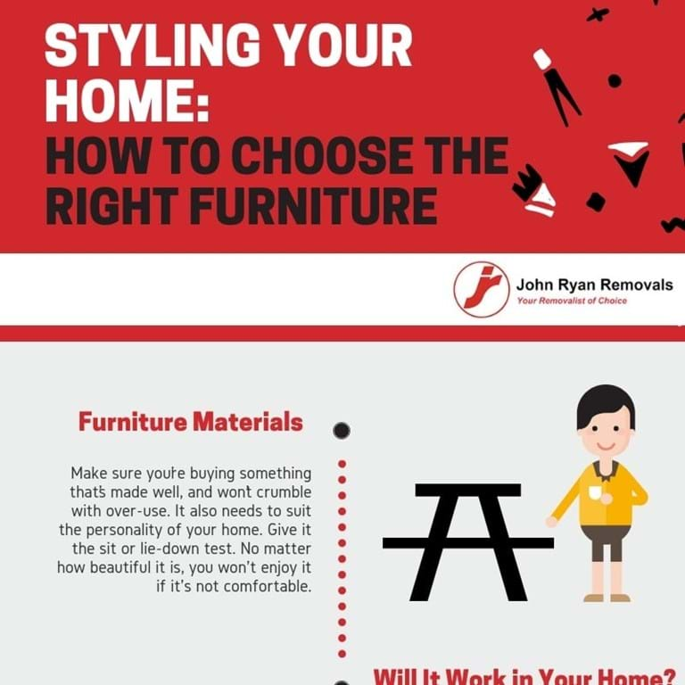 How to choose the right furniture