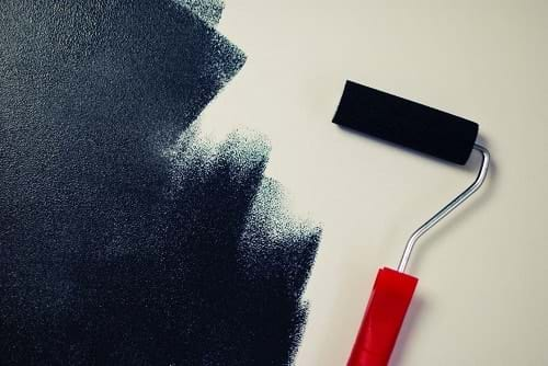 How to repaint your house roller