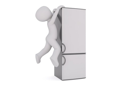 Moving Heavy Furniture Fridge